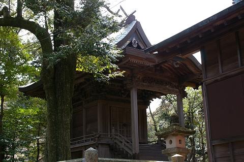 椎宮八幡神社本殿