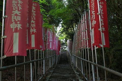 丸山神社参道