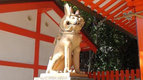 蛭子神社 狛犬 吽