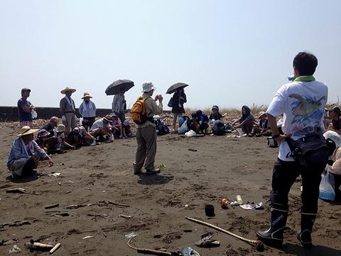 那賀川河口の品評会
