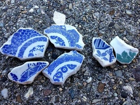 田尻産陶片の例