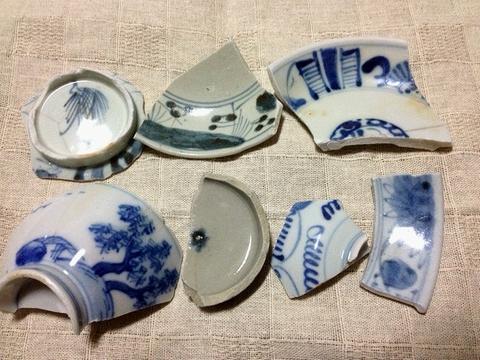 古川の渡し 陶片1