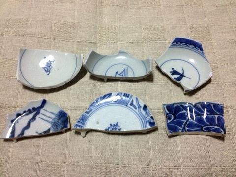 古川の渡し 陶片3