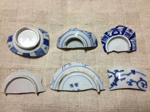 古川の渡し 陶片4
