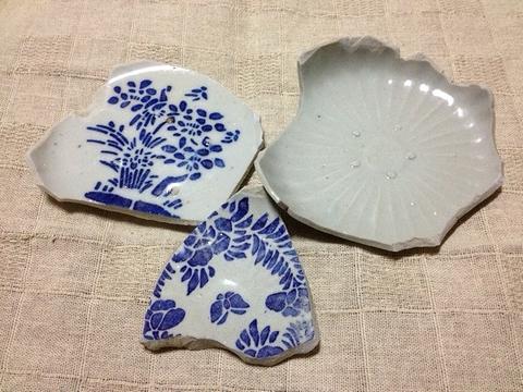 古川の渡し 陶片6
