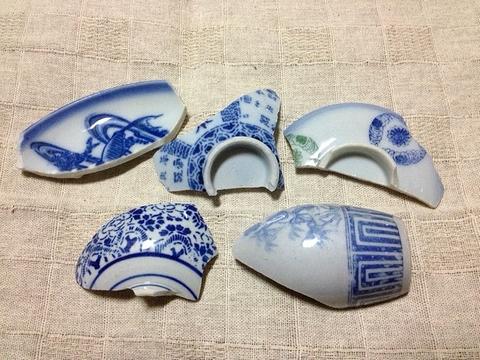 古川の渡し 陶片7