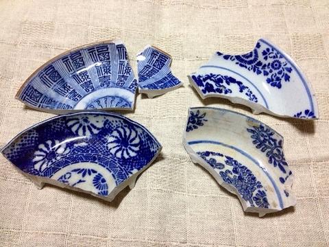古川の渡し 陶片8