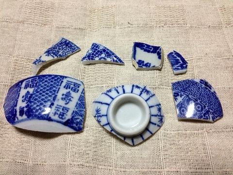古川の渡し 陶片11
