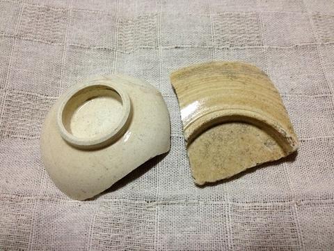 古川の渡し 陶片15