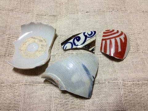 古川の渡し 陶片16