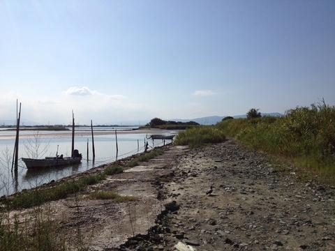 初秋の吉野川