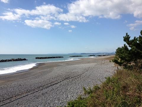 浜改田の浜
