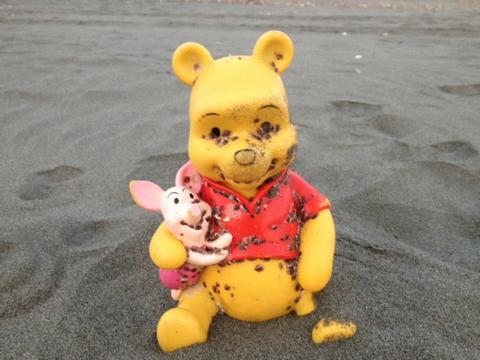ちょっと怖い某黄色いクマ