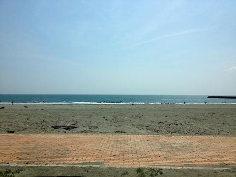 GWの小松海岸