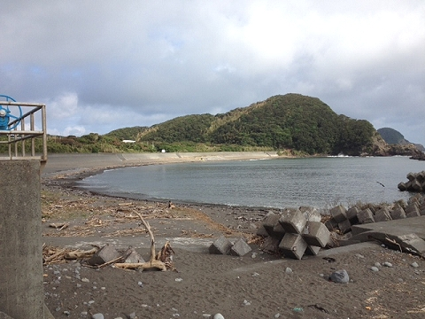 蒲生田の浜