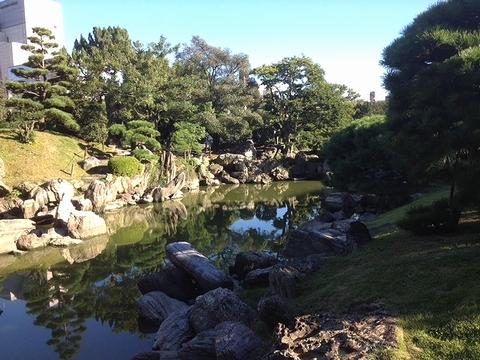 旧徳島城表御殿庭園1