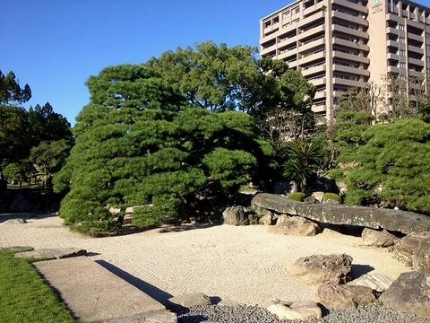 旧徳島城表御殿庭園2