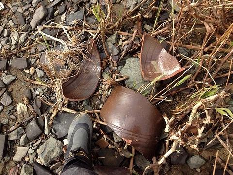 甕、壷など大物陶器の破片