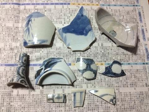 江戸の陶片
