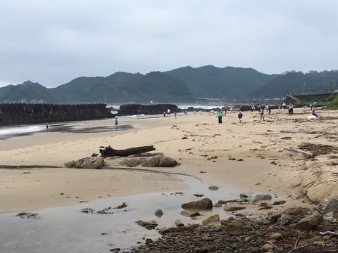 宍喰長浜の様子