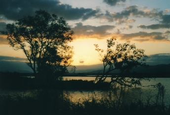 Evening glow of autumn 2