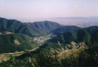 徳島市内を望む