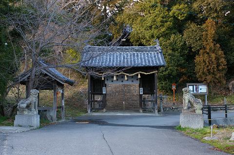 宇志比古神社 神門