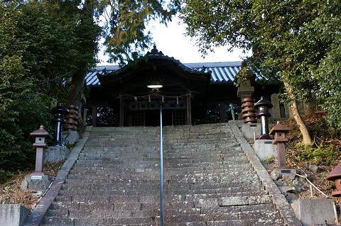 宇志比古神社 拝殿正面