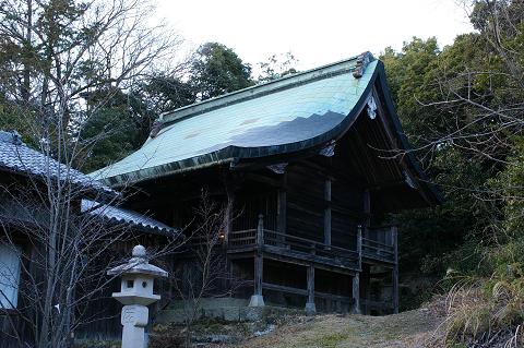 宇志比古神社 本殿